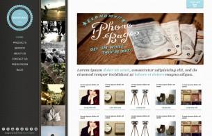 Jimdo templates - Showcase eCommerce Theme
